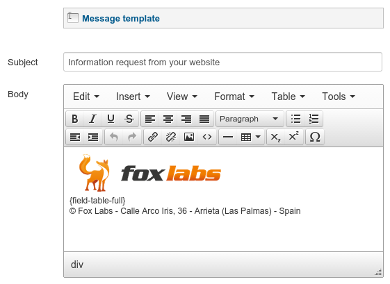E-mail notification templates - Support Forum